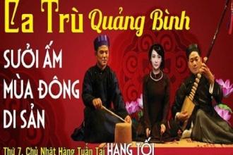 """ Ca tru"" Quang Binh – warming Heritage winter"